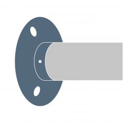 Mocowania osiowe poręczy