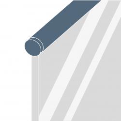 System poręcz - szkło